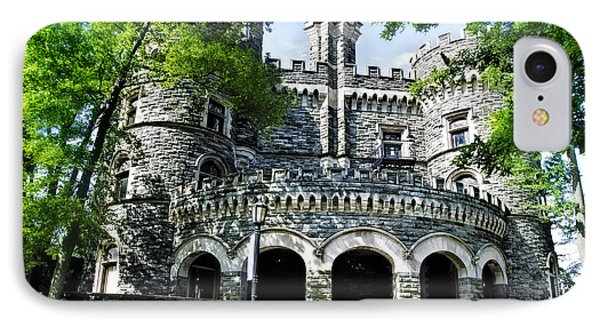 Grey Towers Castle - Beaver College IPhone Case by Bill Cannon