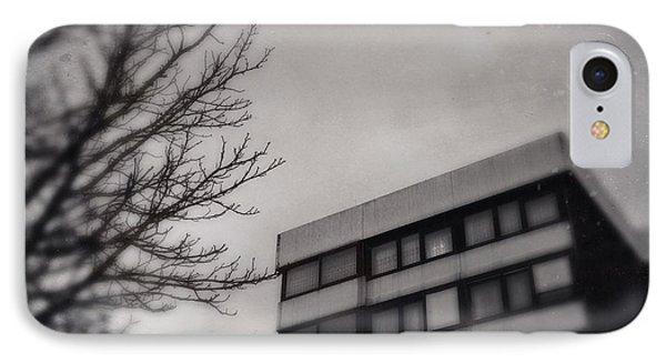Grey Urban Architecture IPhone Case