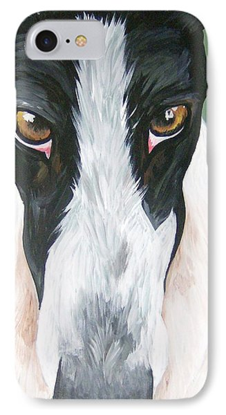 Greyhound Eyes IPhone Case
