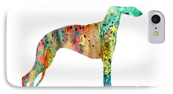 Greyhound  IPhone Case by Luke and Slavi