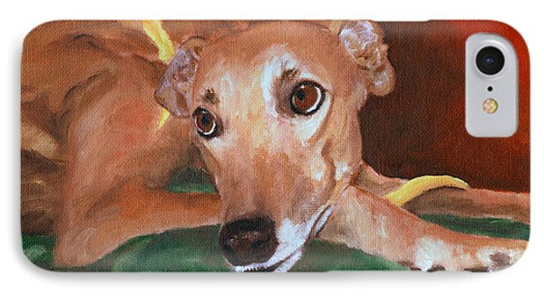 Greyhound Pout IPhone Case
