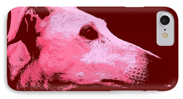 IPhone Case featuring the photograph Greyhound Profile by Clare Bevan