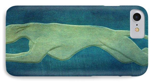 Greyhound Phone Case by Sandy Keeton