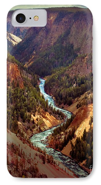 Grand Canyon Of The Yellowstone IPhone Case by Robert Bales