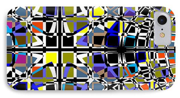 Grid IPhone Case by Barbara Moignard