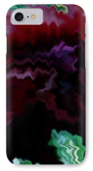 IPhone Case featuring the mixed media Grief by Patricia Griffin Brett
