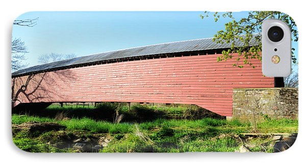 Griesemer's Covered Bridge Berks County IPhone Case
