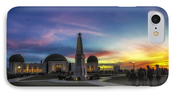 IPhone Case featuring the photograph Griffith Observatory by Sean Foster