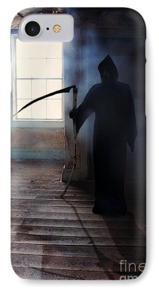 Grim Reaper IPhone Case by Jill Battaglia