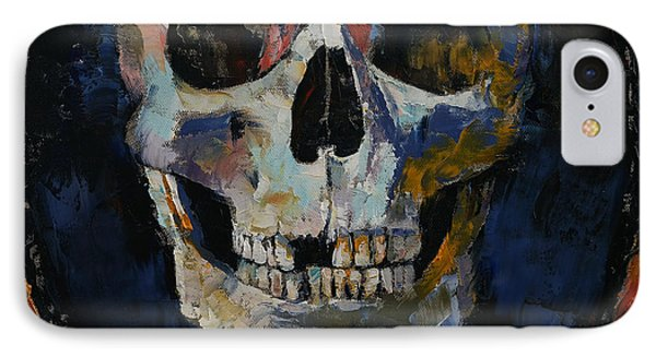 Grim Reaper IPhone Case by Michael Creese