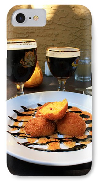 Grimbergen And Arancini IPhone Case