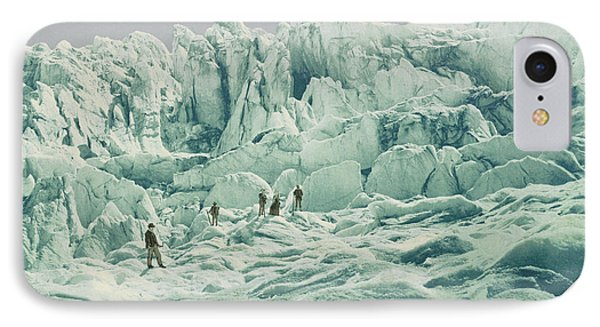 Grindelwald Glacier Switzerland IPhone Case
