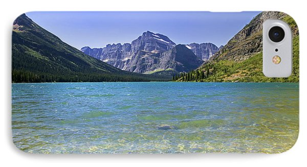 Grinnel Lake Glacier National Park Phone Case by Rich Franco