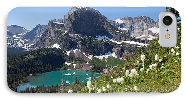 Grinnell Lake With Beargrass IPhone Case by Jack Bell