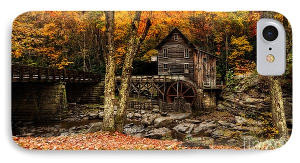 Grist Mill At Babcock Park Pano IPhone Case