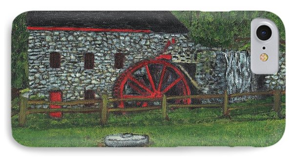 Grist Mill At Wayside Inn Phone Case by Cliff Wilson