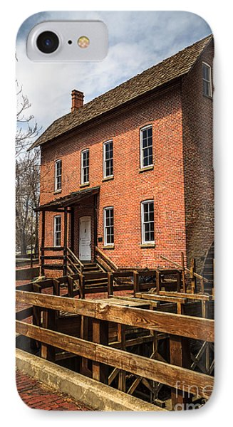 Grist Mill In Hobart Indiana IPhone Case