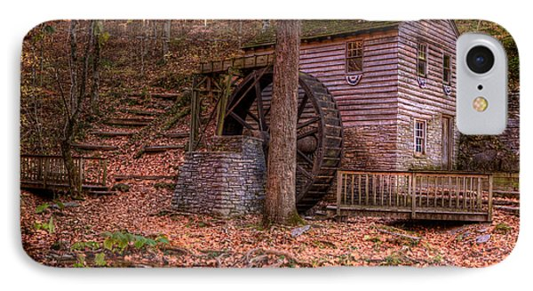 Grist Mill In Tennessee IPhone Case by Joe Granita