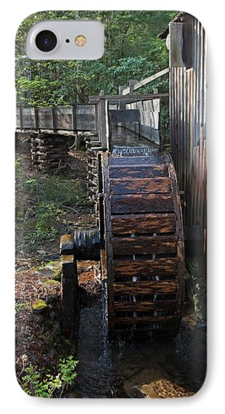 Grist Mill Waterwheel IPhone Case