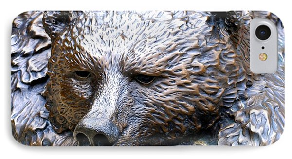 Grizzly Bear 2 IPhone Case by Charlie and Norma Brock