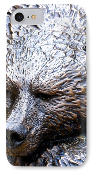 Grizzly IPhone Case by Charlie and Norma Brock