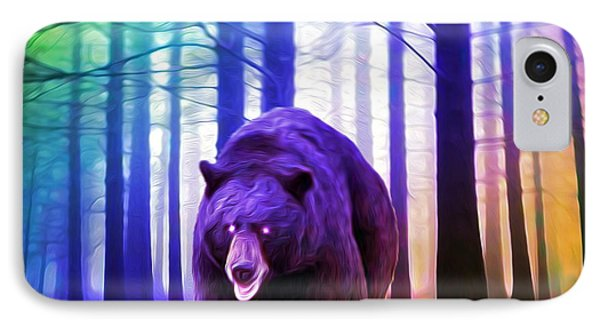 Grizzly In The Woods IPhone Case