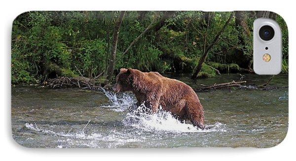Grizzly Jump IPhone Case