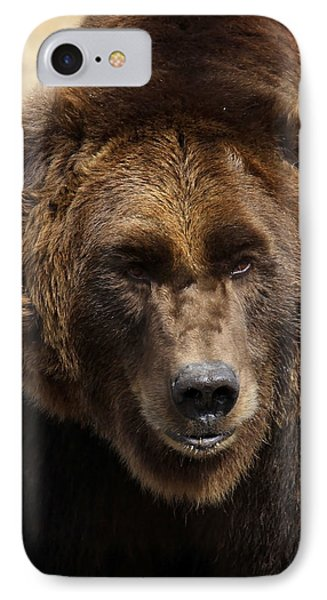 IPhone Case featuring the photograph Grizzly by Steve McKinzie