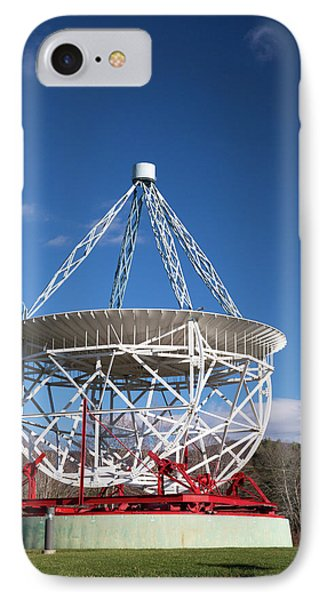Grote Reber's Radio Telescope IPhone Case by Jim West