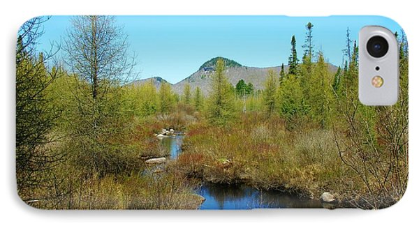 IPhone Case featuring the photograph Groton State Forest Moose Country by Sherman Perry