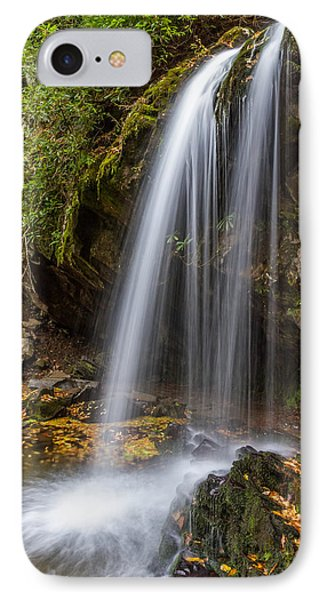 Grotto Falls Great Smoky Mountains Phone Case by Pierre Leclerc Photography