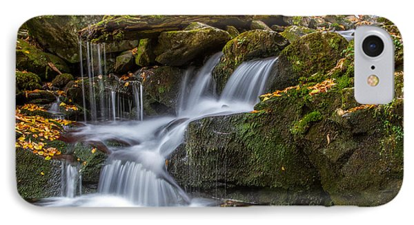 Grotto Falls Great Smoky Mountains Tennessee Phone Case by Pierre Leclerc Photography