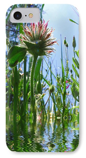 Ground Level Flora Phone Case by Joyce Dickens