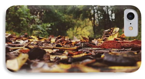 Ground Level Leaves IPhone Case by Nikki McInnes