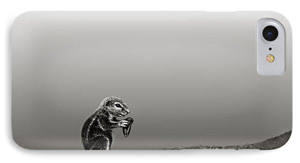 Squirrel iPhone 7 Case - Ground Squirrel by Johan Swanepoel
