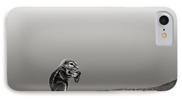 Ground Squirrel IPhone Case by Johan Swanepoel
