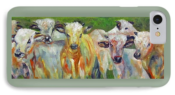 The Gathering, Cattle   IPhone Case