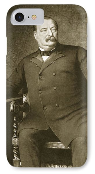 Grover Cleveland IPhone Case by American School