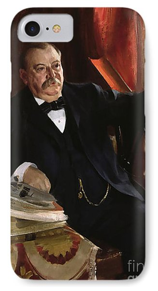Grover Cleveland IPhone Case by Aners Zorn