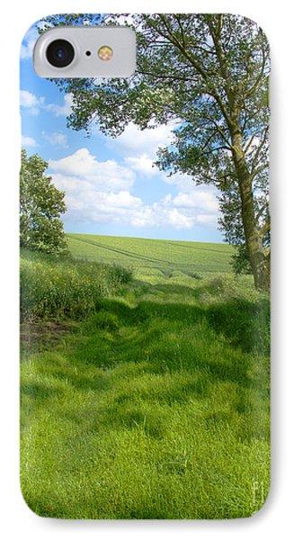 Growing Green Phone Case by Ann Horn