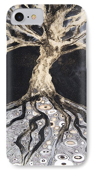Growing Roots Phone Case by Tara Thelen