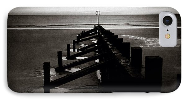 Groyne 1 IPhone Case by Dave Bowman