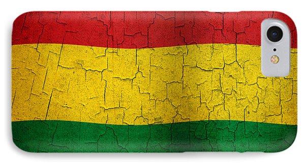 Grunge Bolivia Flag IPhone Case