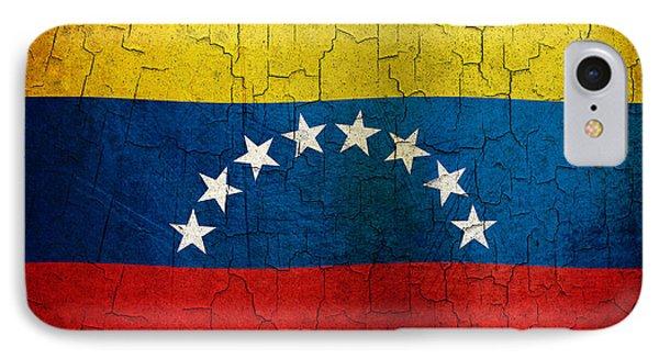 Grunge Venezuela Flag IPhone Case