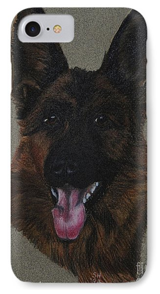 GSD Phone Case by Susan Herber
