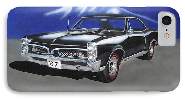 Gto 1967 IPhone Case by Thomas J Herring