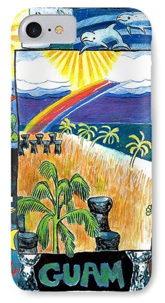 Guam Phone Case by Genevieve Esson
