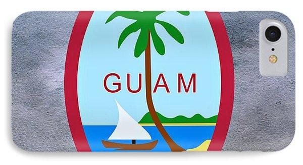 Guam Territory Seal IPhone Case