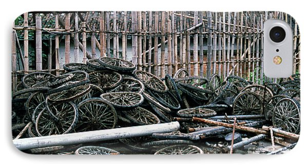 Guangzhou Tires Phone Case by Scott Shaw
