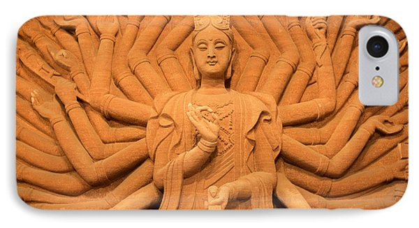 IPhone Case featuring the photograph Guanyin Bodhisattva by Dean Harte